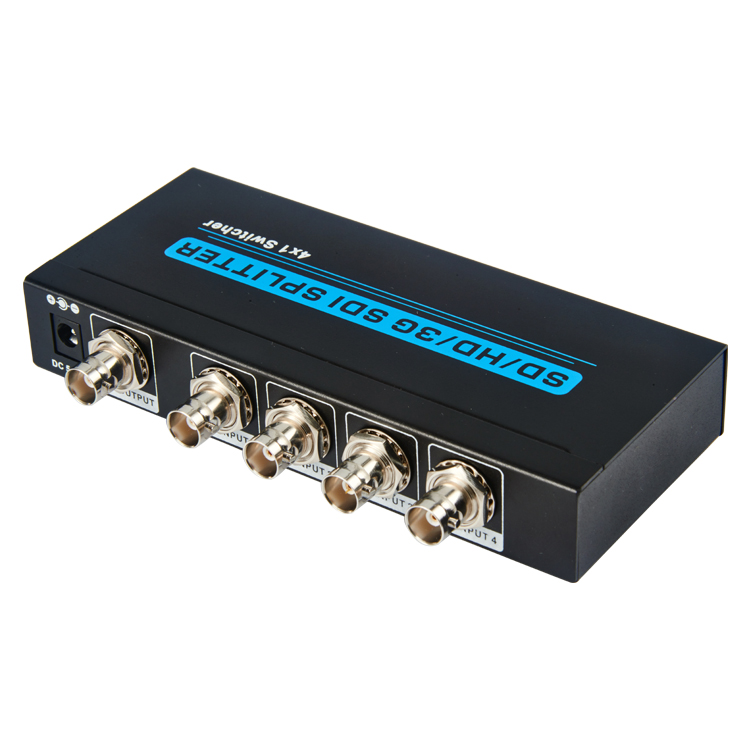 SD/HD/3G SDI 4x1 Switcher