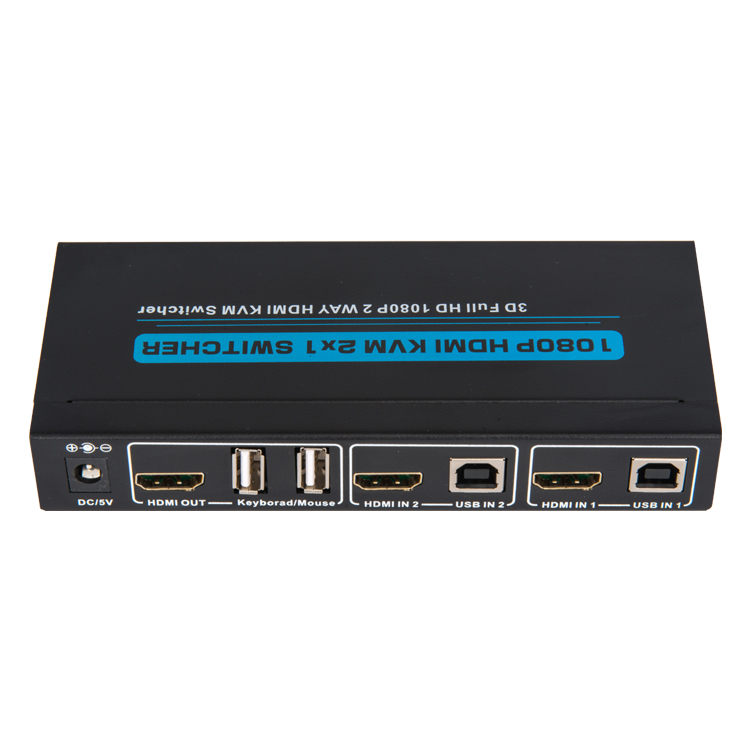 HDMI1.3 KVM 2x1 Switcher