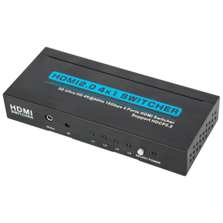 HDMI2.0V 4x1 Switcher(3D Ultra HD 4Kx2K@60Hz)