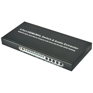 HDMI1.4 5x1 Switcher with Audio Extractor