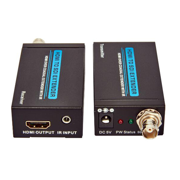 HDMI1.3V 100m Extender Over Coaxial With IR(3D Full HD 1080P)