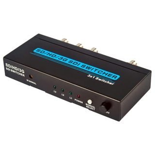 SD/HD/3G SDI 3x1 Switcher
