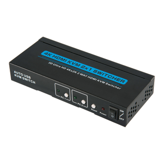 HDMI1.4 KVM 2x1 Switcher