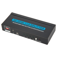 HDMI1.4 1x4 Splitter with EDID+IR