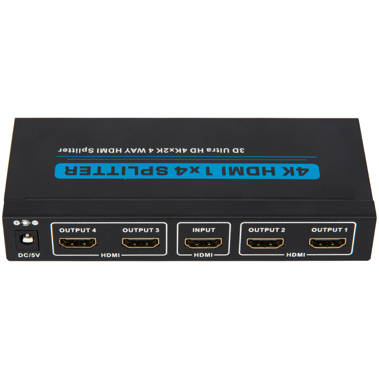 HDMI1.4 1x4 Splitter (3D Ultra HD 4Kx2K)