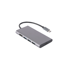 TYPE C TO 3*USB3.0+HDMI+SD+TF+PD