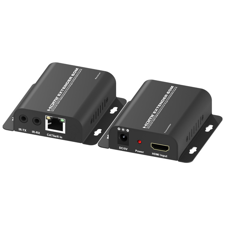 HDMI1.3V 60M Extender Over CAT5e/6 With Dual IR(3D Full HD 1080P)