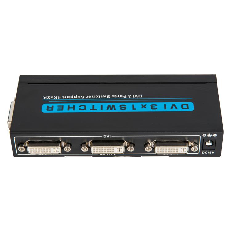 DVI 3x1 Switcher 4K