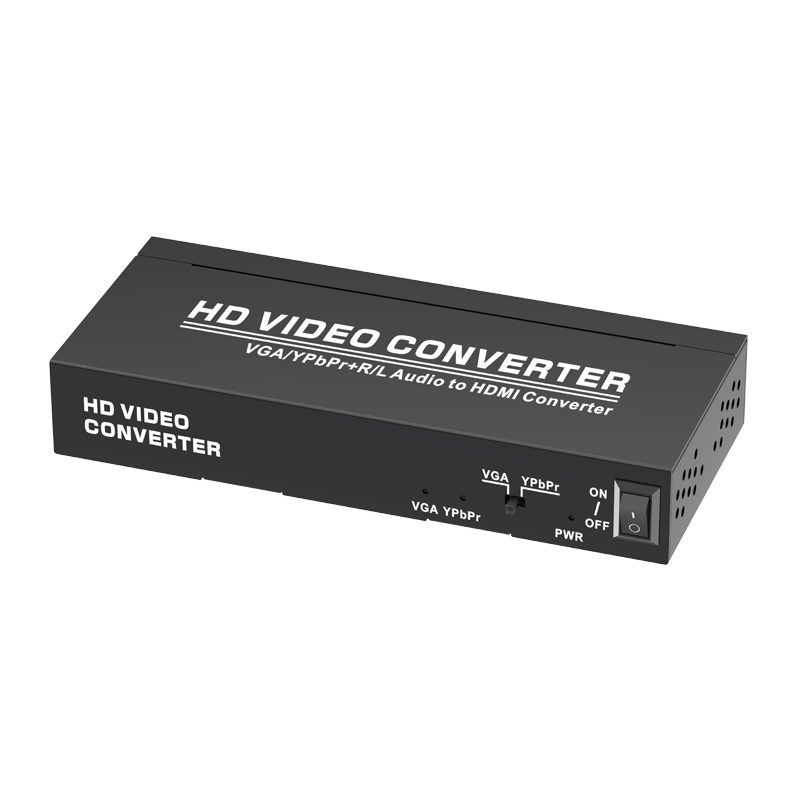 VGA/YPbPr+Audio to HDMI Converter